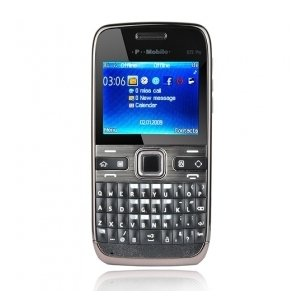 E72 Pro Style Thin Duad Band Cell Phone with TV Function and FM Radio