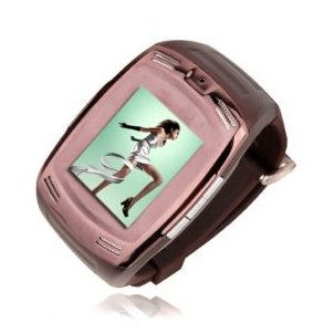 W09 Quad Band Touch Cell Phone Watch Built-in 2.0 MP Camera