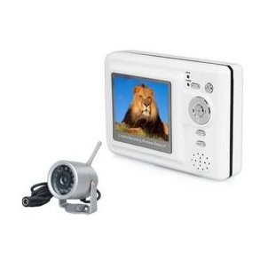 2.4GHz 4-channel wireless mobile baby monitor Set with night vision Camera