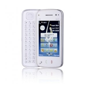 M008 Dual Card Dual Camera Quad Band WIFI TV Function 3.2 Inch Slide Cell Phone