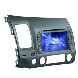 7.0 Inch Digital Screen 2 DIN Car DVD Player HL-8739GB With GPS Special for HONDA Civic