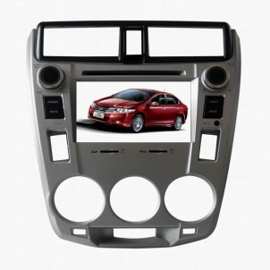 7.0 Inch Digital Screen 2 DIN Car DVD Player HL-8734GB With GPS Special for HONDA City