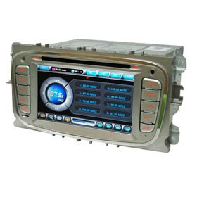 6.2 Inch 2 DIN Car DVD Player HL-8710 with Digital Screen for Mondeo/Focus 09/S-MAX
