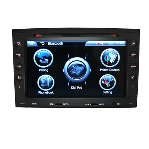 7.0 Inch Digital Screen 2 DIN In Dash Car DVD Player HL-8741GB with GPS Special for Renault Megane