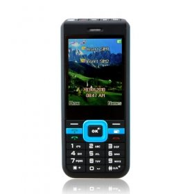 Wholesale G5 Low Price Dual Card Quad Band Torch Bluetooth Ultra Thin Cell Phone Black and Blue