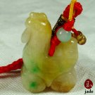 Chinese Rooster jade pendant hanger