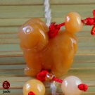 Chinese Little sheep jade pendant hanger