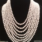 8 strand water freshwater cultured pearl necklace