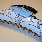 Swarovski crystal alligator barrette hair clip