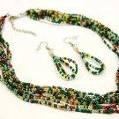 Muticolored Glass Beads