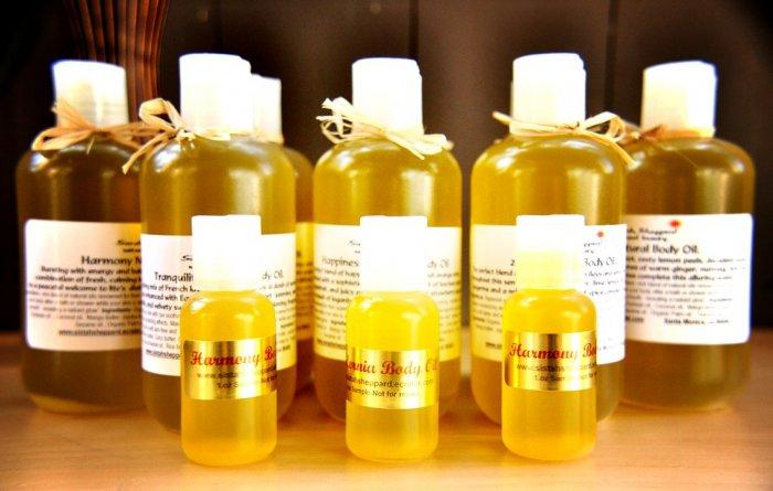Ella Mae Natural Body Oil 8oz  apple flower, ylang-ylang and melon.