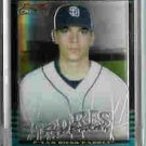 Cliff Bartosh San Diego Padres 2002 Bowman Chrome Uncirculated Rookie Card