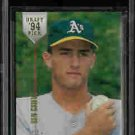 Ben Grieve Chicago White Sox 1994 Stadium Club Draft Picks Rookie Card BGS 8.5