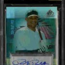 Richie Robnett Oakland Athletics 2004 SP Prospects Auto Rookie Card BGS 9
