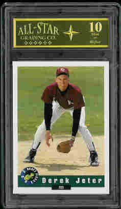 Derek Jeter New York Yankees 1992 Classic Draft Picks Graded Mint 10