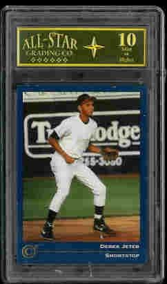 Derek Jeter New York Yankees 1992 Classic Collectors Club Mint 10