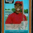 Josh LeBlanc Los Angeles Angels of Anaheim 2006 Bowman Chrome Orange Refractor RC SN#/25 BC10