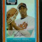 Fredy Deza Baltimore Orioles 2006 Bowman Chrome Orange Refractor RC SN#/25 BC57