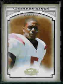 Reggie Bush New Orleans Saints 2006 Donruss Threads College Gridiron Kings Gold SN#/100