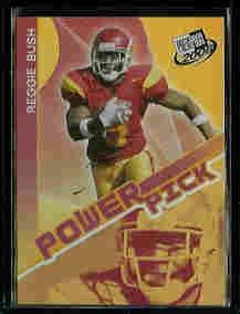 Reggie Bush New Orleans Saints 2006 Press Pass Power Pick #46 USC