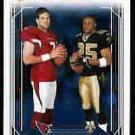 Reggie Bush New Orleans Saints Matt Leinart Arizona Cardianals USC Teamates 2006 Score Card #328