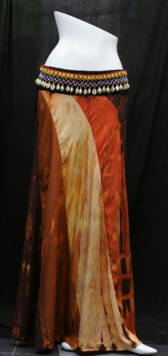 Long 8 panel skirt