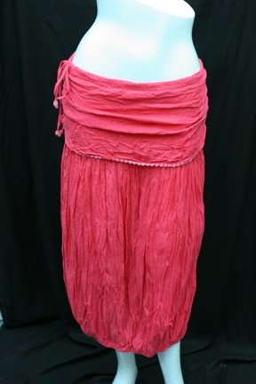 2 level with cochet line skirt