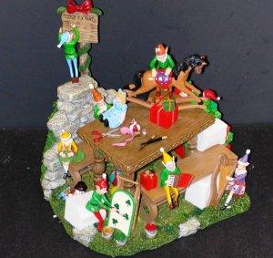 Danbury Mint Collectible Christmas Elfin Magic Mint Condition