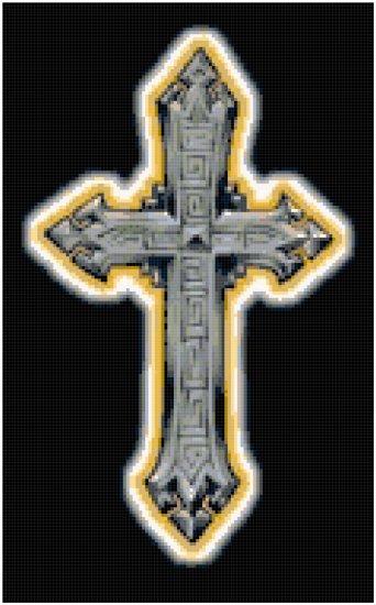 Counted Cross Stitch Original Pattern - Gothic Cross