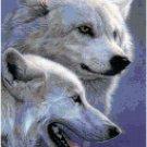 Snow Wolves Original Cross Stitch Pattern