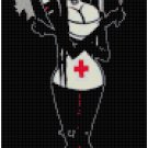 Counted Cross Stitch Pattern - Evil Nurse