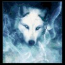 Original Counted Cross Stitch Pattern - Ghost Wolf