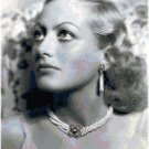 Joan Crawford Cross Stitch Portrait Pattern