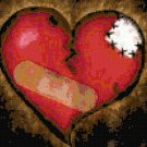 Mending a Broken Heart Original Cross Stitch Pattern