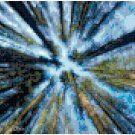 Cross Stitch Pattern - Looking Up through the Trees