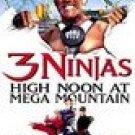 3 Ninjas - High Noon at Mega Mountain (1998, VHS) *New* Hulk Hogan, Jim Varney, Loni Anderson