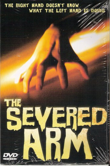 The Severed Arm (DVD, 2004) *Brand New* Deborah Walley, Marvin Kaplan, Paul Carr
