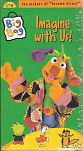 The Muppets:Big Bag - Imagine With Us! (1997, VHS) New