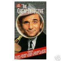 The Cheap Detective (1997, VHS)*New & Sealed* Abe Vigoda, Ann-Margret, Dom DeLuise