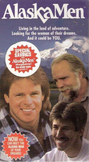 "AlaskaMen (1996, VHS) **Brand New** ""the first-ever home video matchmaking service"""