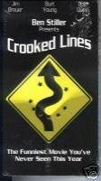 Crooked Lines (VHS) Ben Stiller *New & Sealed*