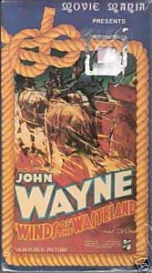 Winds of the Wasteland 1936 John Wayne (VHS) *New*