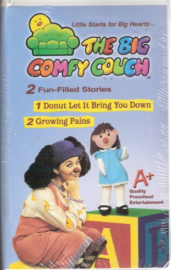 The Big Comfy Couch (VHS, 2004)**Brand New** Donut Let It Bring You Down/Growing Pains