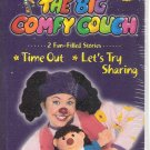 The Big Comfy Couch (VHS, 2004)**Brand New** Time Out/ Let's Try Sharing