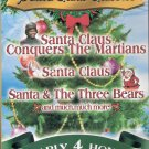 Santa Claus Classics Dvd **Nearly 4 Hours Long**New**
