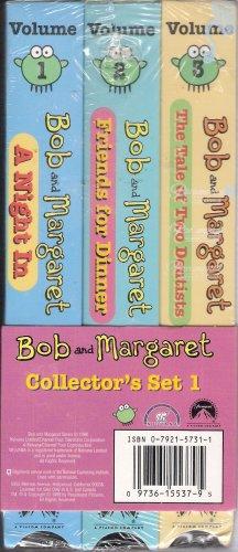 Bob And Margaret Vhs 3 Tape Set Vol 1 3 New