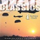 War Classics - Vol. 1: 4 Feature Films (DVD, 2003)*New*