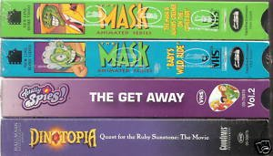 Lot of 4 Kids Movies (VHS)**All Brand New**