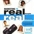 Marketing: Real People, Real Choices 7e 7th edition Solomon, Marshall, Stuart INSTRUCTORS