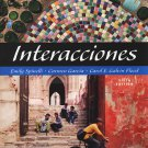 Interacciones (with Audio CD) / 6e 6th ANNOTATED INSTRUCTOR'S EDITION Spinelli, Garcia, Flood
